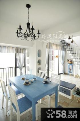 地中海风格客厅装修效果图大全2012图片-非空设计