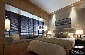 中式现代风格卧室装修图