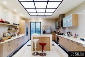 开放式厨房吊顶装修设计