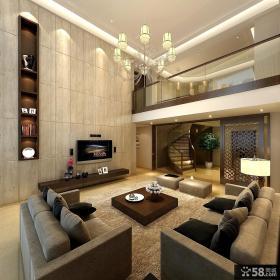 2013现代风客厅电视背景墙装修效果图欣赏