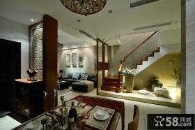 现代新中式复式家装设计