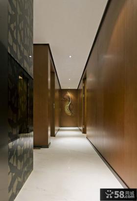 现代时尚设计140平米四居效果图