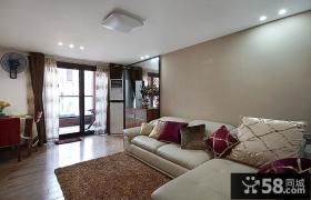 现代复式室内家装设计效果图