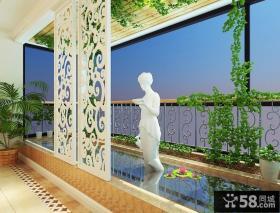 大气豪华的欧式风格客厅吊顶装修效果图大全2012图片