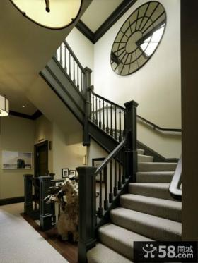 家庭别墅楼梯扶手设计效果图
