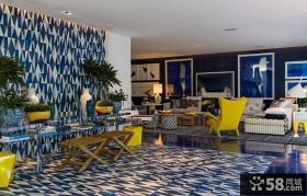 后现代风格别墅室内装修设计效果图