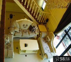 英伦花园别墅图片大全 客厅装修效果图欣赏
