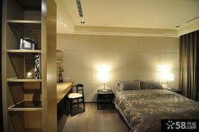 简约风格卧室房间设计效果图片