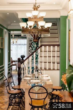 复式楼餐厅设计效果图欣赏