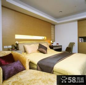 美式现代风格卧室内设计图片