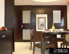 现代中式设计室内餐厅装修效果图片