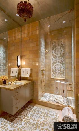 欧式古典风格别墅室内家居设计图片