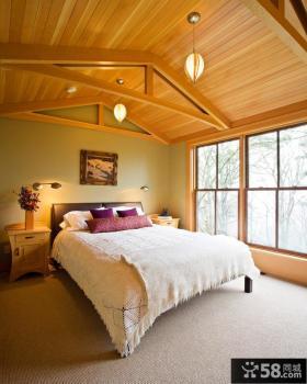 别墅卧室装饰设计图片