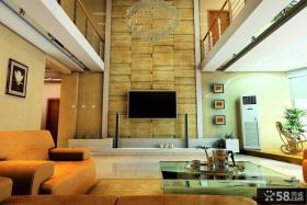2013别墅客厅电视背景墙设计效果图