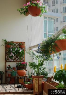 阳台绿化装修效果图2013