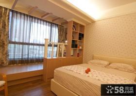 韩式风格卧室窗帘