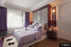 现代风格主人卧室房装修效果图