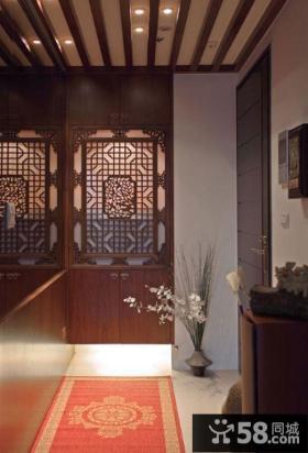 古典中式装修玄关效果图