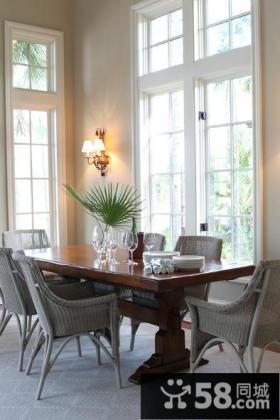 素雅宜人的小户型客厅飘窗装修效果图大全2014图片