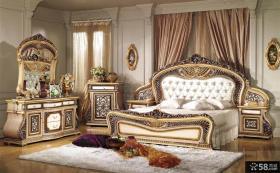 奢华装修卧室欧式古典家具图片
