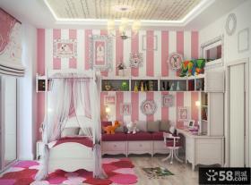 豪华公主卧室设计效果图