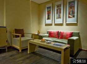 新中式客厅家具效果图欣赏