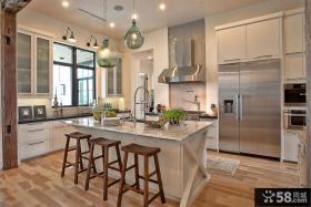 复式楼装修效果图 2012厨房装修效果图