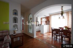 家庭餐厅厨房装修效果图片欣赏