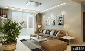 90平米小户型客厅装修效果图