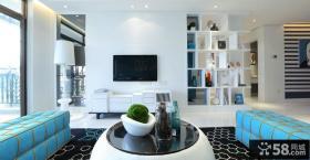 2013优质现代家居客厅电视背景墙效果图