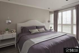 欧式新古典大窗户卧室装修效果图