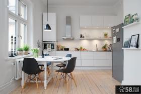 简约设计室内开放式厨房效果图