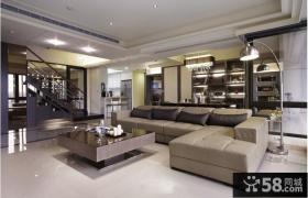 复式客厅沙发房间设计图