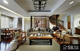 古典中式复式家装设计案例