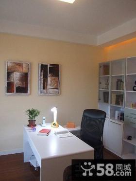 两室两厅简约的书房装修效果图大全2014图片
