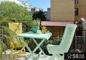 休闲区阳台设计效果图欣赏大全