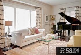 120平复式楼宜家风格客厅装修效果图大全2012图片
