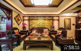 中式古典儒雅客厅装潢
