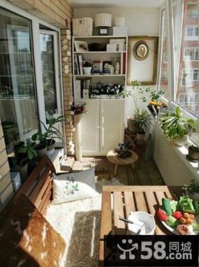 家装阳台储物柜设计