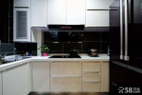 现代简约式厨房设计效果图