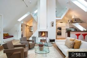北欧复式家居装修设计