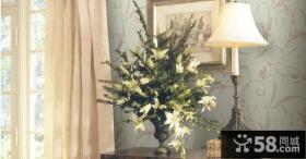 欧式客厅精美壁纸图片
