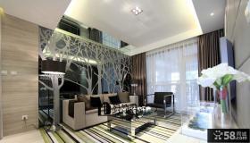 客厅沙发背景墙造型