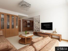 2013优质小客厅电视背景墙设计