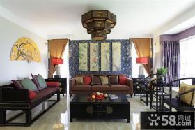 中式客厅吊顶图片大全