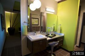 美式风格别墅客厅全貌装修图片