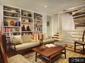 复式楼小客厅装修效果图