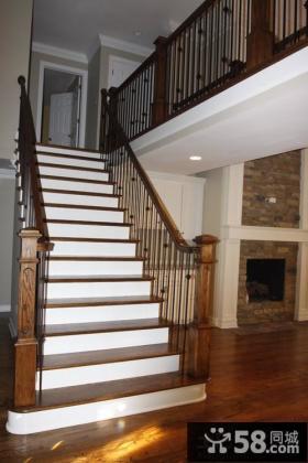 家装楼梯设计效果图片