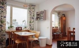 田园风格设计小餐厅装饰效果图