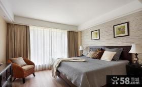 简约风格二居室卧室装修效果图